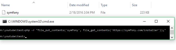 symfony command file